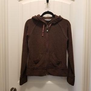eco zip up hoodie
